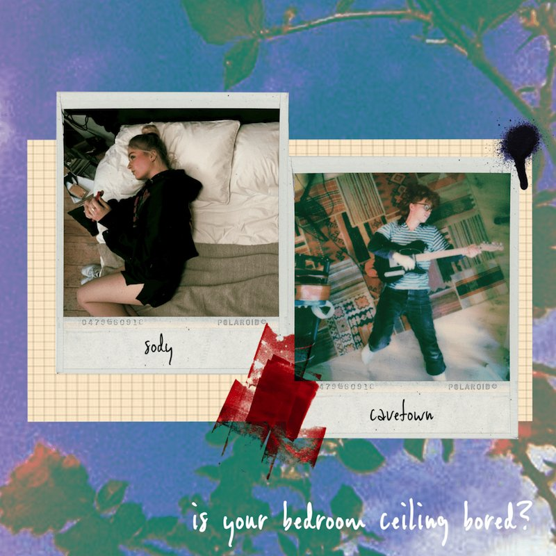 """Sody and Cavetown - """"Is Your Bedroom Ceiling Bored?"""" cover"""