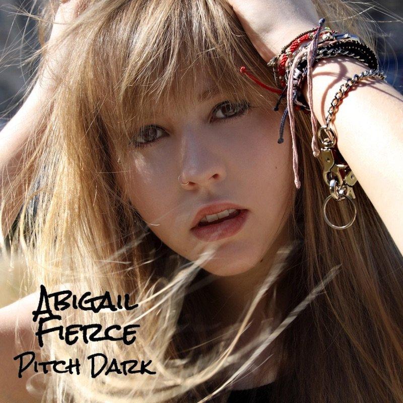 """Abigail Fierce - """"Pitch Dark"""" cover"""