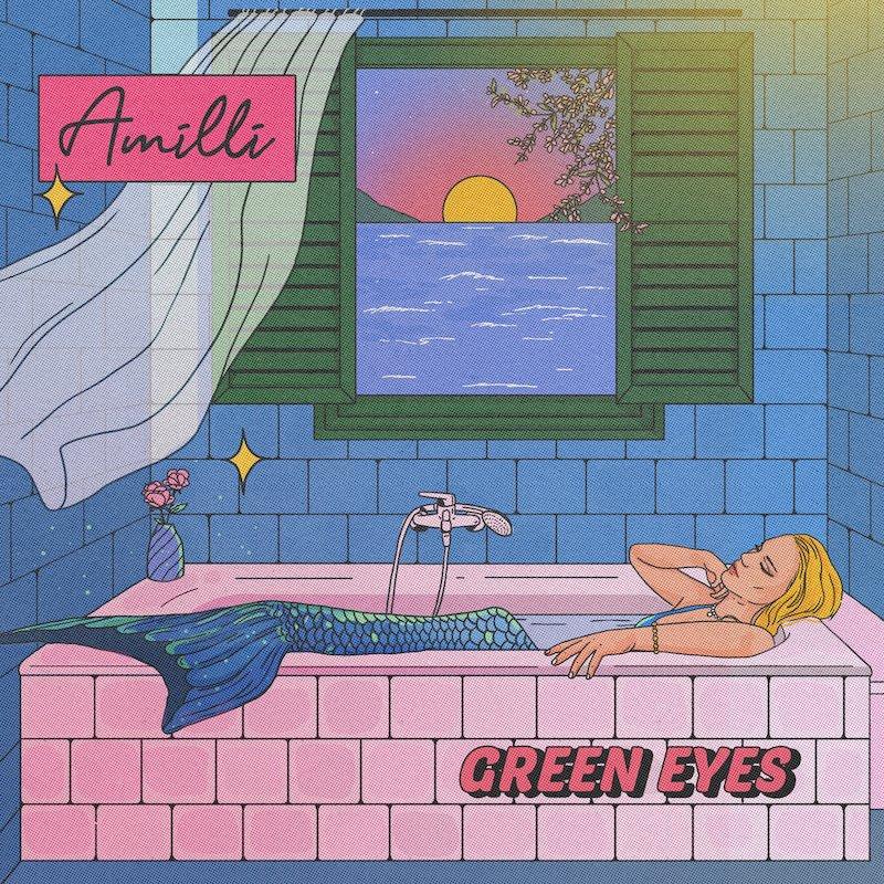 "Amilli - ""Green Eyes"" cover art"