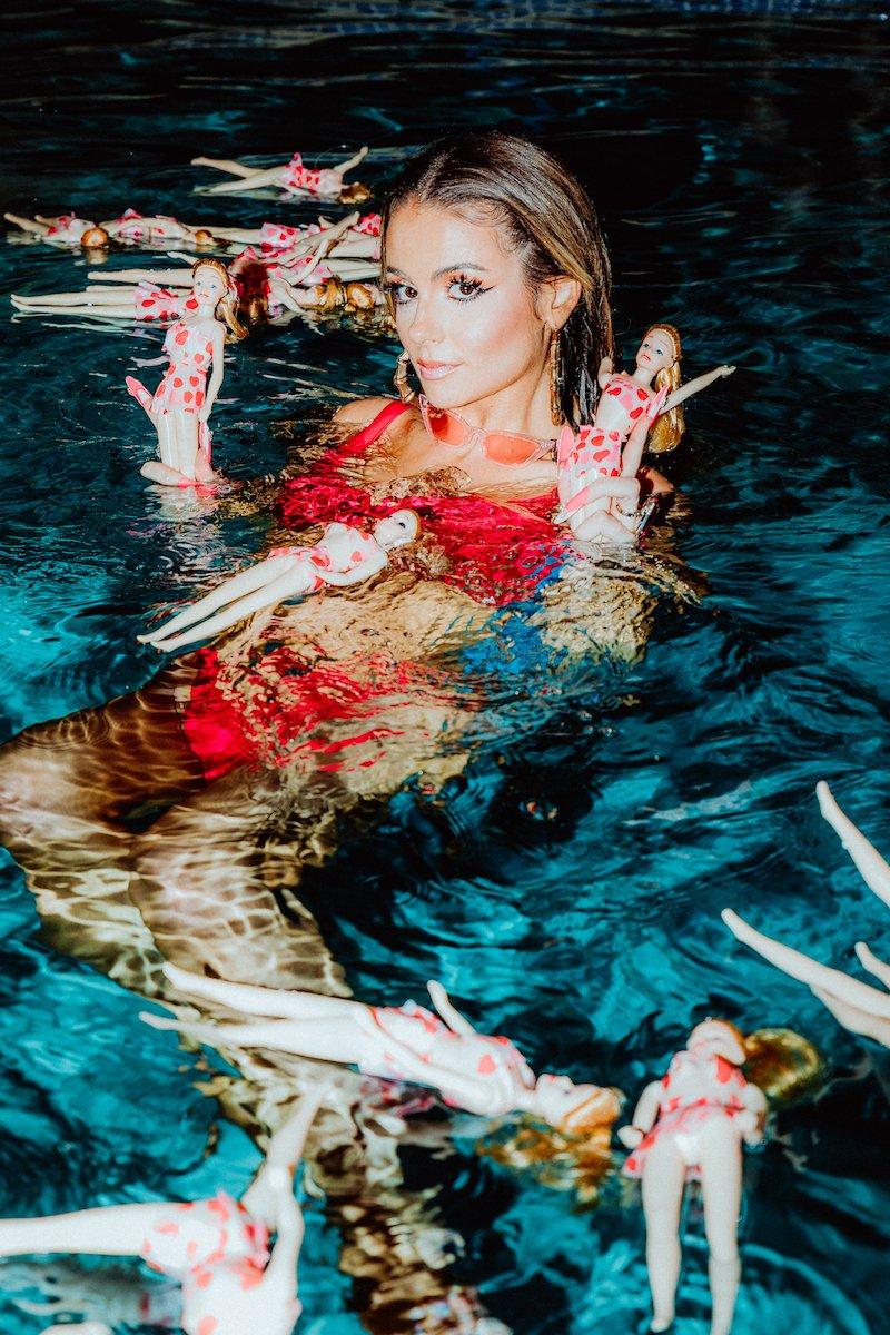 Chelsea Collins - Water Run Dry BTS photo by Quinn Tucker + quasarmedia