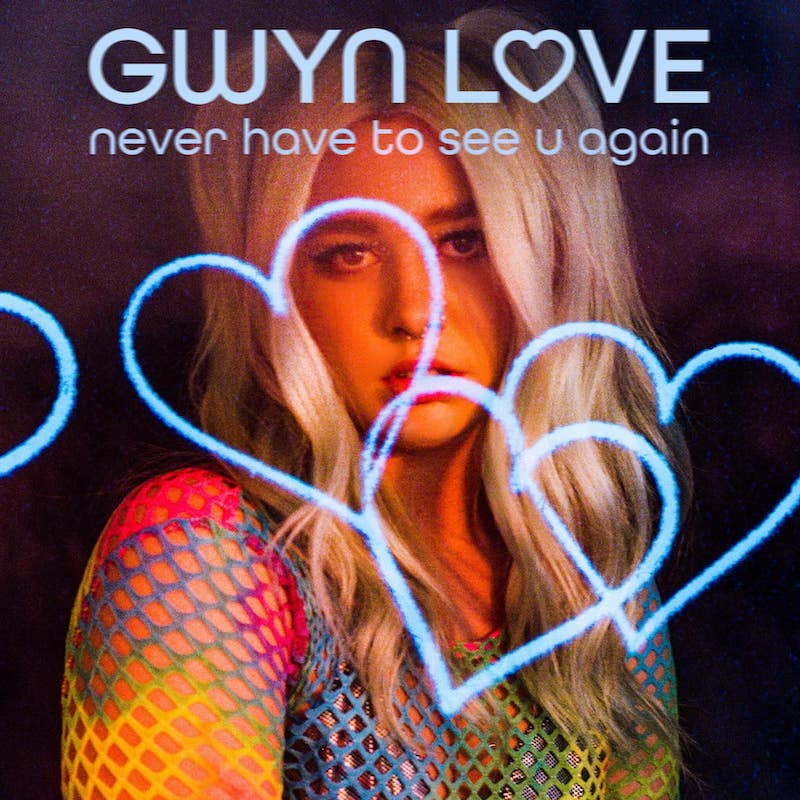 """Gwyn Love - """"never have to see u again"""" cover"""