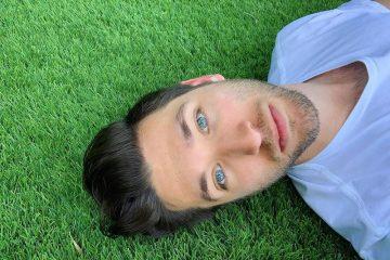 Justin Jesso press photo on green grass