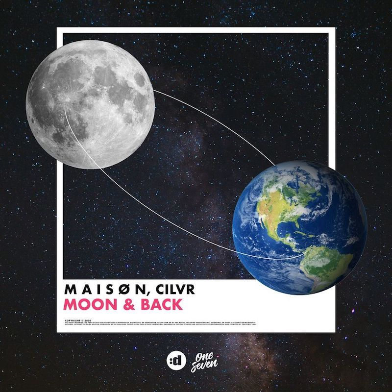 "M A I S Ø N & CILVR - ""Moon & Back"" cover"