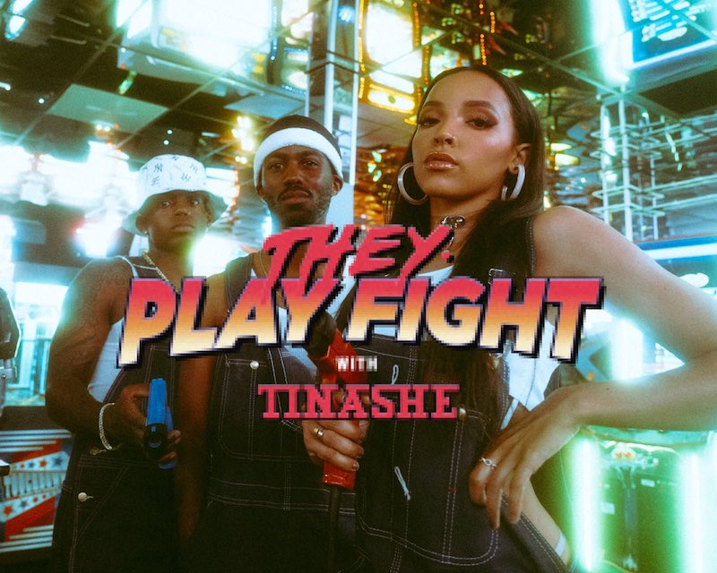 "THEY. & Tinashe - ""Play Fight"" video photo"