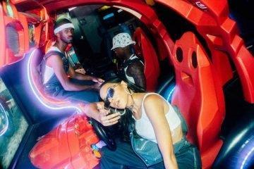 THEY. & Tinashe press photo