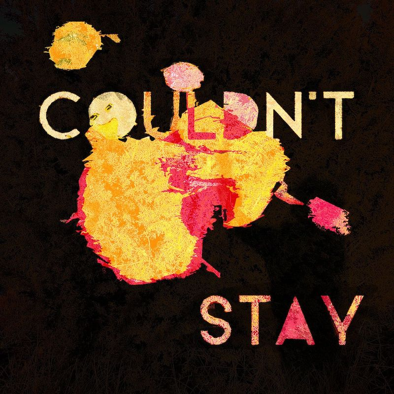 "The Reverb Junkie - ""Couldn't Stay"" album cover"