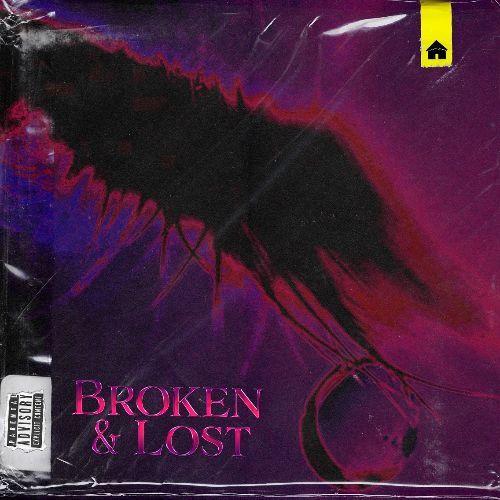 "glvsshouse - ""Broken & Lost"" cover art by Mark Saint"