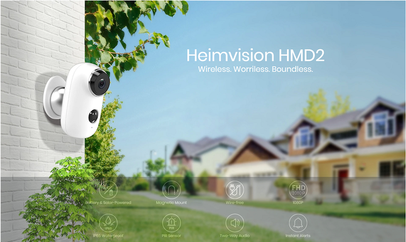 wireless worriless boundless security cameras