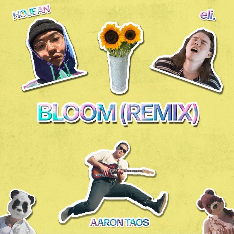 "Aaron Taos - ""Bloom (Remix)"" cover art"
