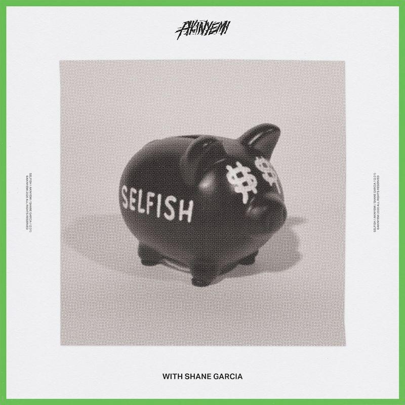 """Akinyemi - """"Selfish"""" cover art"""