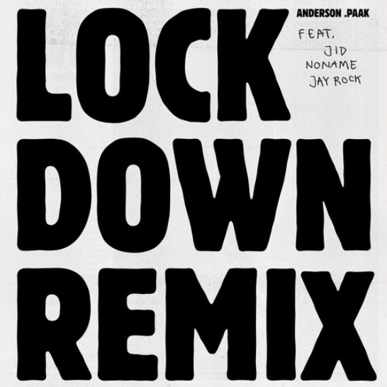 Anderson .Paak - Lock Down (Remix) cover