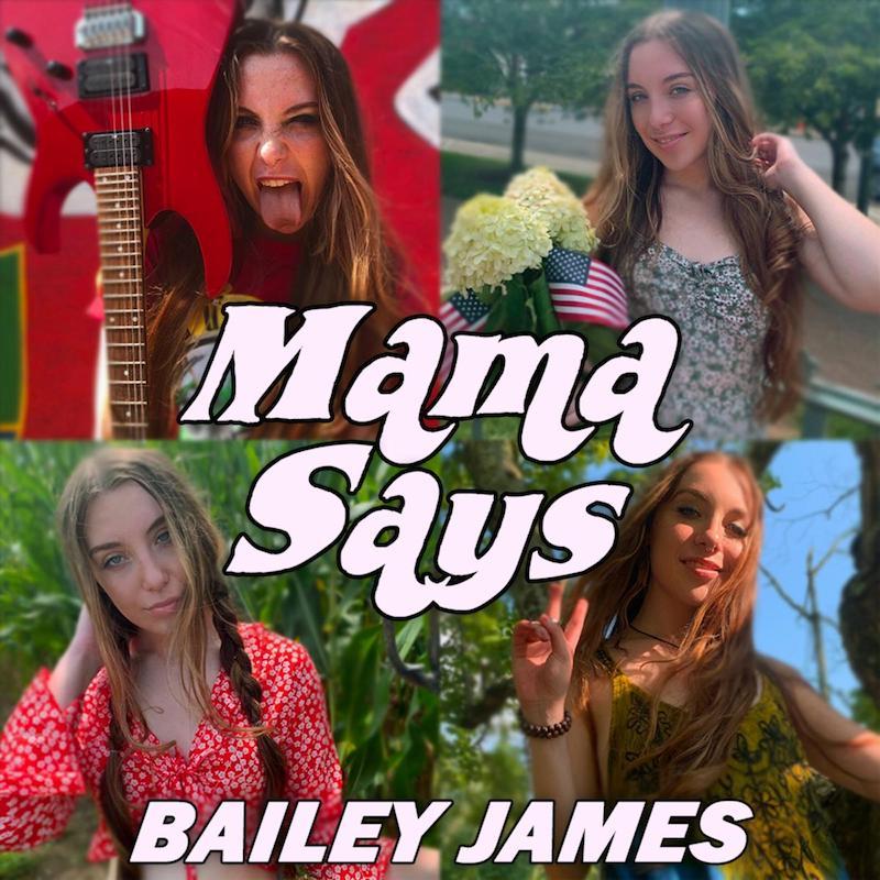 "Bailey James - ""Mama Says"" cover"