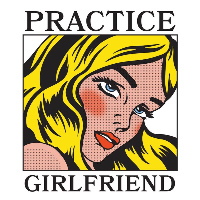 "Erin Kirby - ""Practice Girlfriend"" cover art"