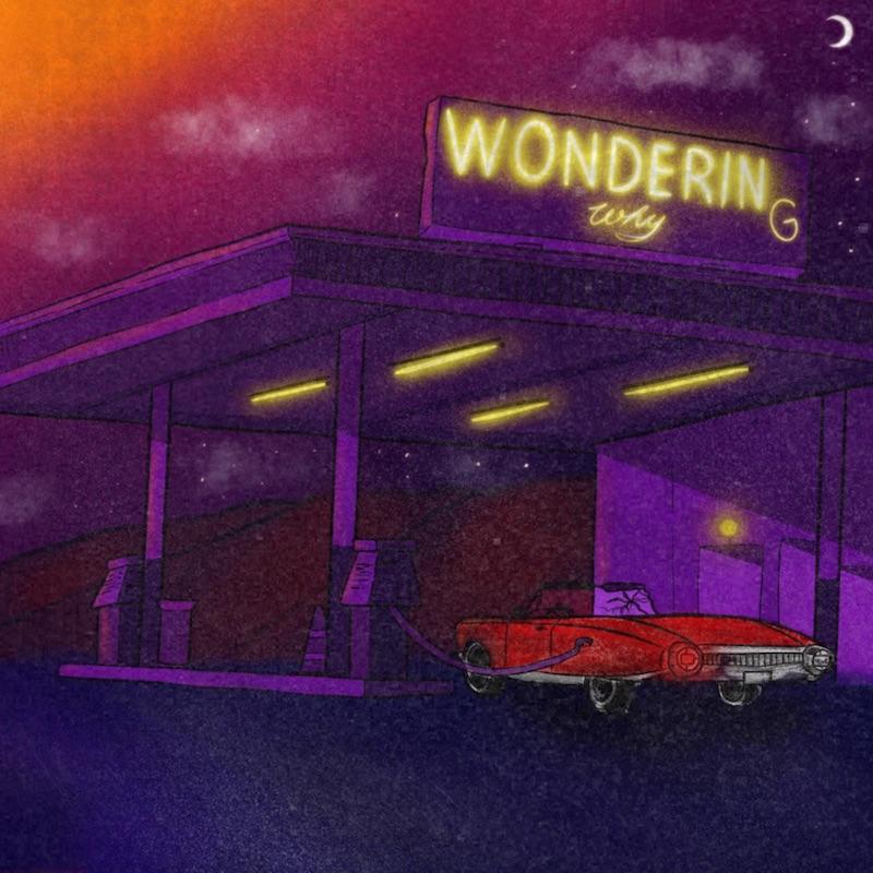 """Hollyy - """"Wondering Why"""" cover art"""