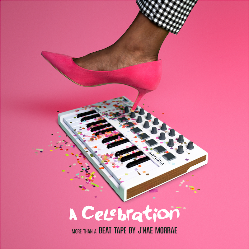 """J'Nae Morrae - """"A Celebration"""" album cover art"""