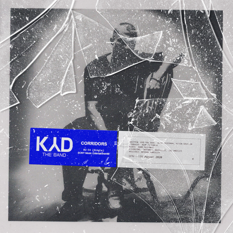 Kyd the Band - _Corridors_ single art