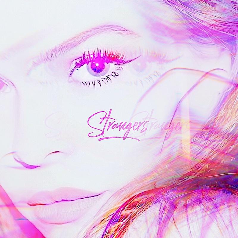 """Lulu Simon - """"Strangers"""" cover art"""