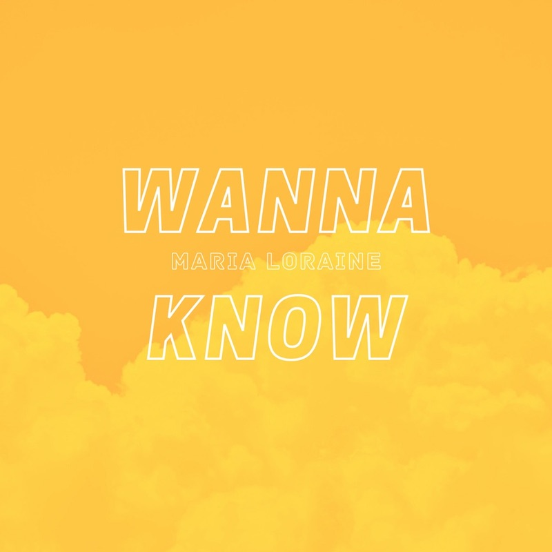 """Maria Loraine - """"Wanna Know"""" cover"""