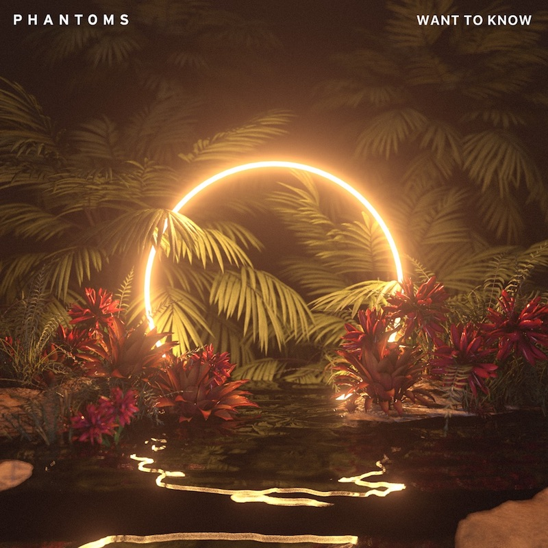 """Phantoms - """"Want to Know"""" cover"""
