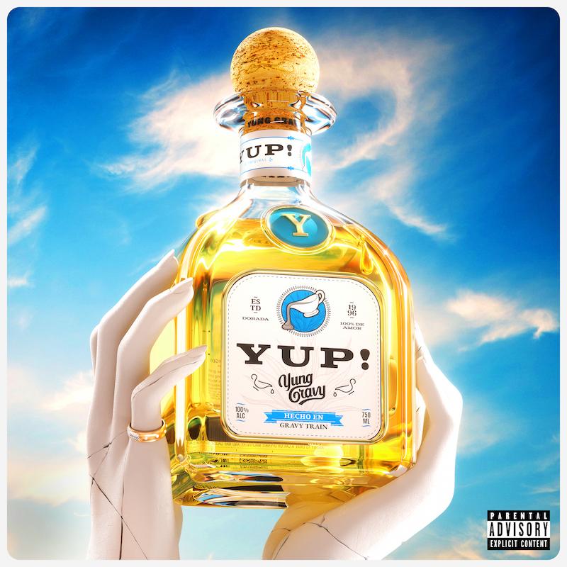 "Yung Gravy - ""yup!"" cover art"