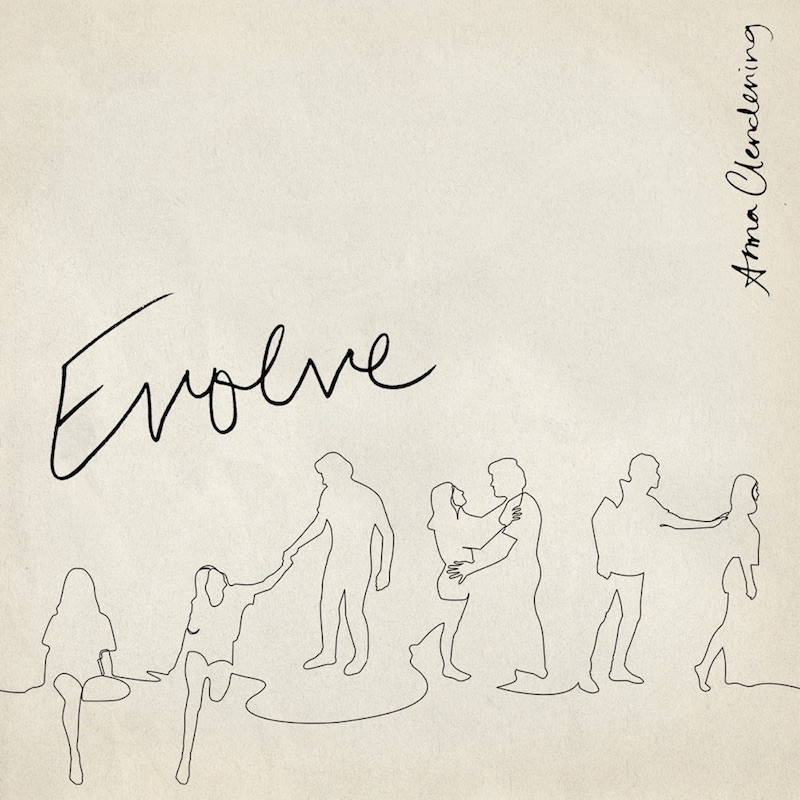 """Anna Clendening - """"Evolve"""" EP cover"""
