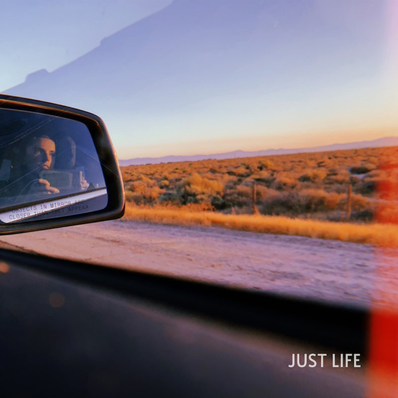 """BLÜ EYES - """"Just Life"""" cover"""