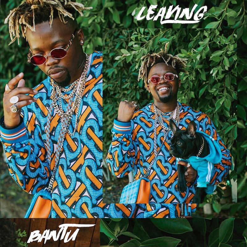 """Bantu - """"Leaving"""" cover"""