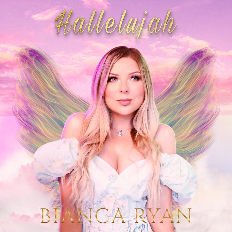 "Bianca Ryan - ""Hallelujah"" cover art"