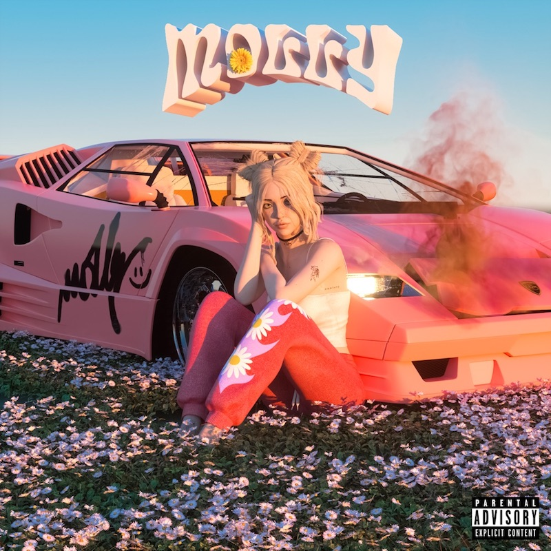 "Chase Atlantic – ""MOLLY"" cover art"