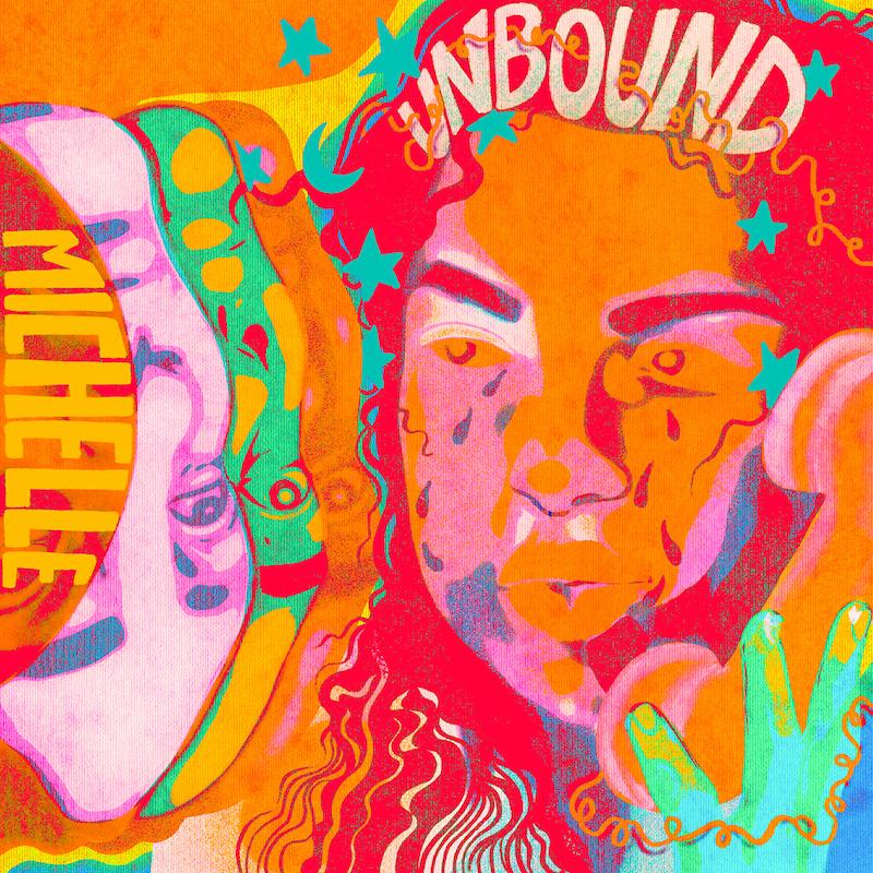 "MICHELLE - ""UNBOUND"" cover art"