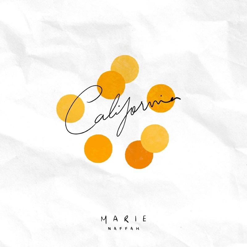 """Marie Naffah - """"California"""" cover"""