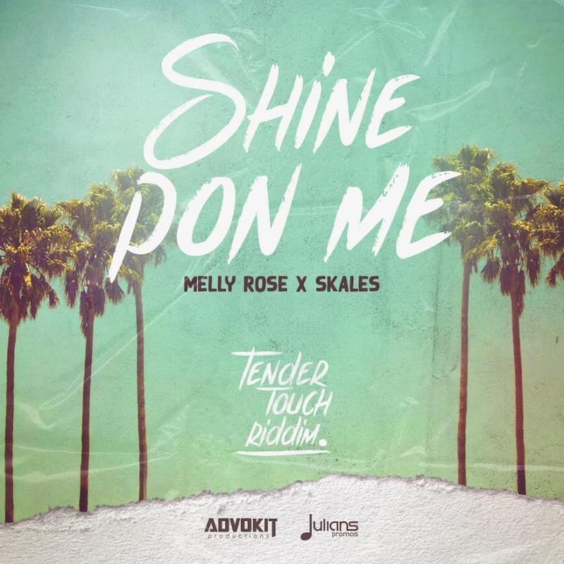 "Melly Rose x Skales - ""Shine Pon Me"" cover art"