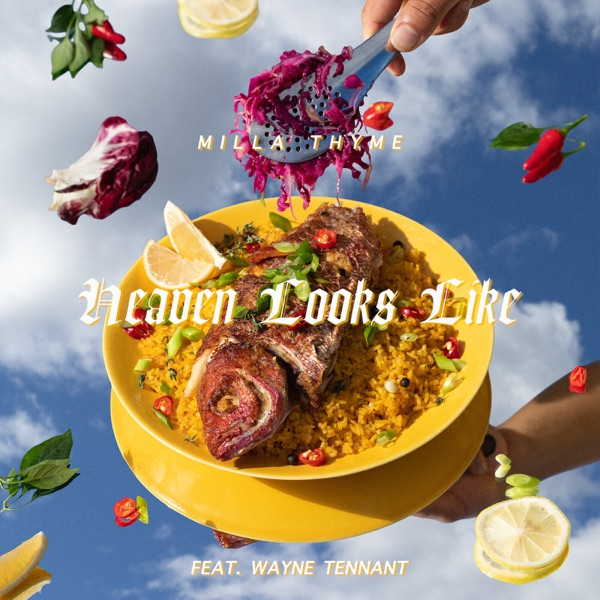 "Milla Thyme - ""Heaven Looks Like"" cover art"