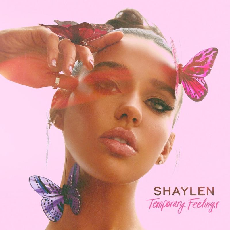 "Shaylen - ""Temporary Feelings"" cover art"
