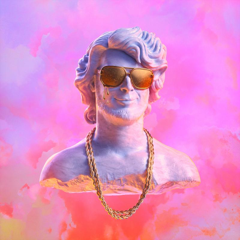 """Yung Gravy - """"Gasanova"""" album cover art - AEFORIA"""