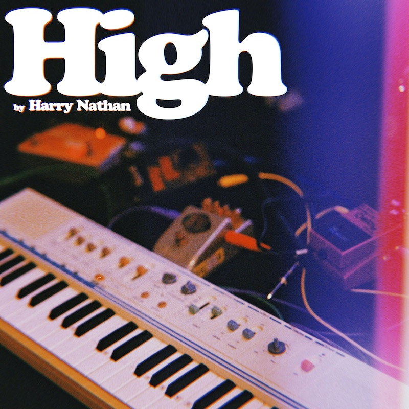"""Harry Nathan - """"High"""" cover"""