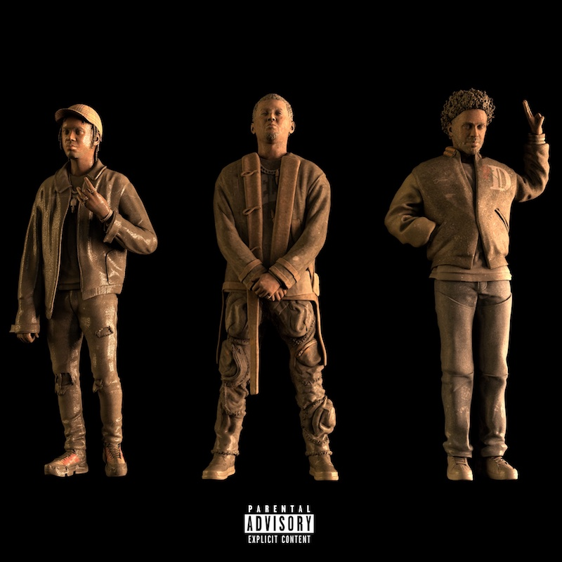 "Hit-Boy – ""SALUTE"" cover featuring Big Sean and Fivio Foreign"