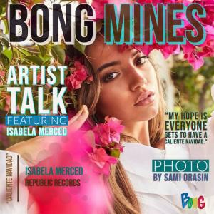 Isabela Merced Bong Mines cover