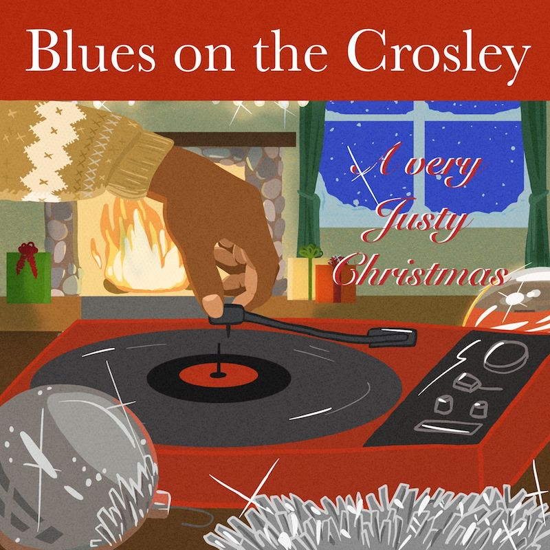 "Justy - ""Blues on the Crosley"" cover"