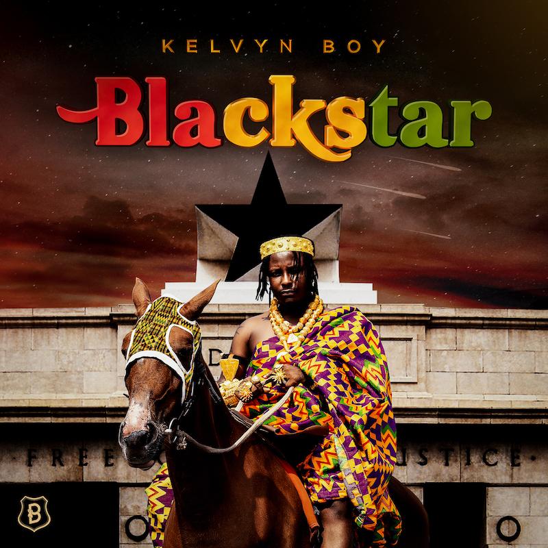 """Kelvyn Boy – """"Blackstar"""" album cover"""