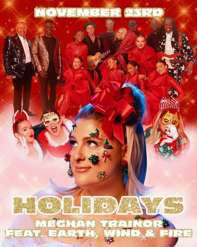 "Meghan Trainor - ""Holidays"" poster"