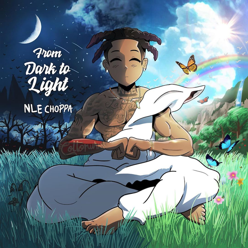 "NLE Choppa - ""From Dark to Light"" cover"