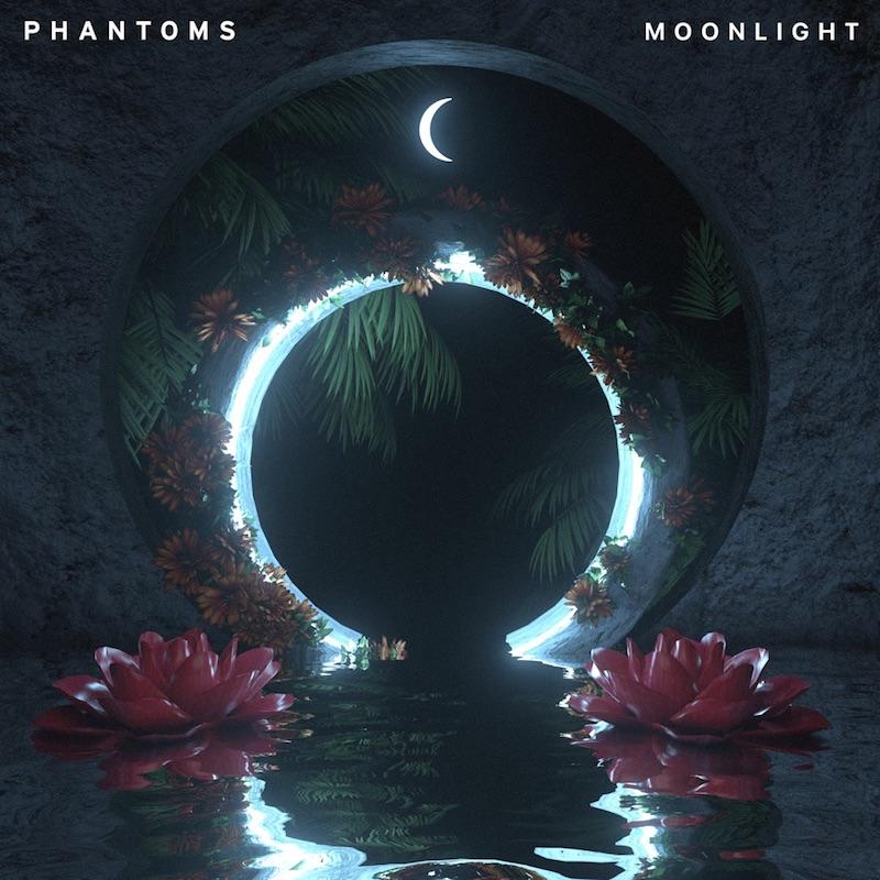 "Phantoms - ""Moonlight"" EP cover"
