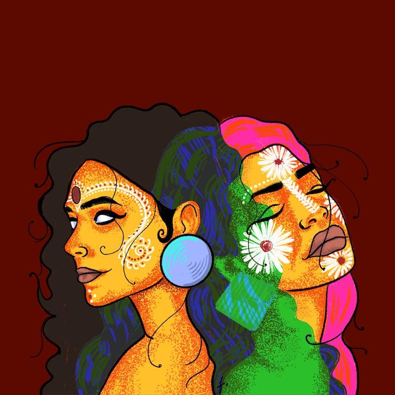 """Sanjeeta Bhattacharya - """"Red"""" cover art"""