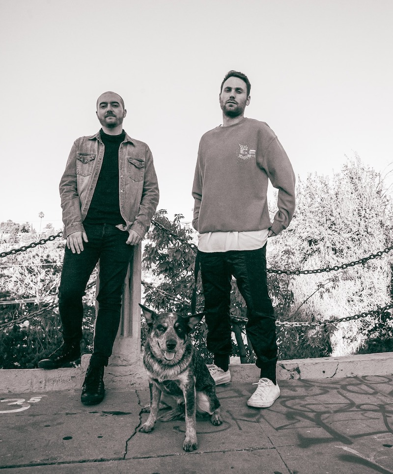 Dance Yourself Clean press photo with dog