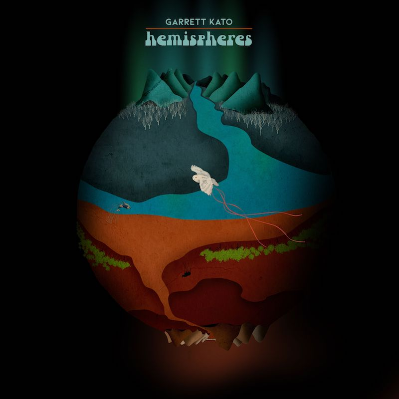 "Garrett Kato -""hemispheres"" album cover"