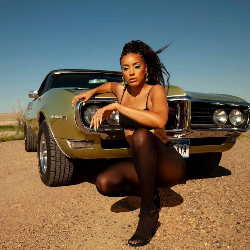 """Kayla Rae - """"Y.K.T.F.V."""" press photo"""