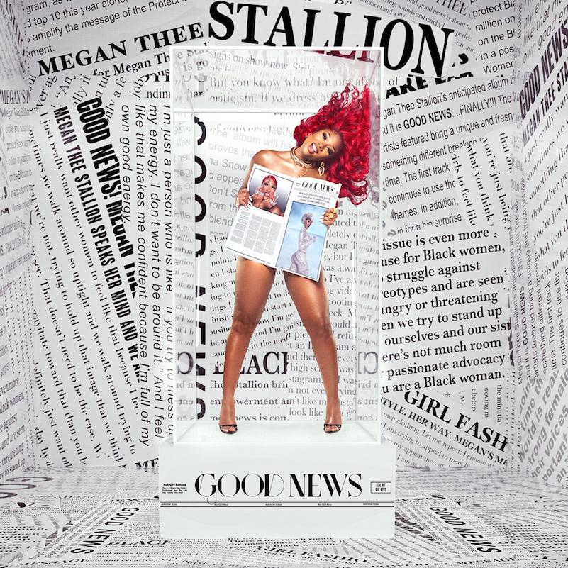 Megan Thee Stallion - Good News cover