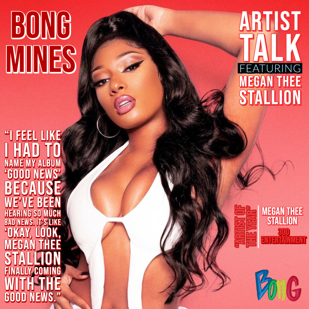 Megan Thee Stallion Bong Mines Artist Talk