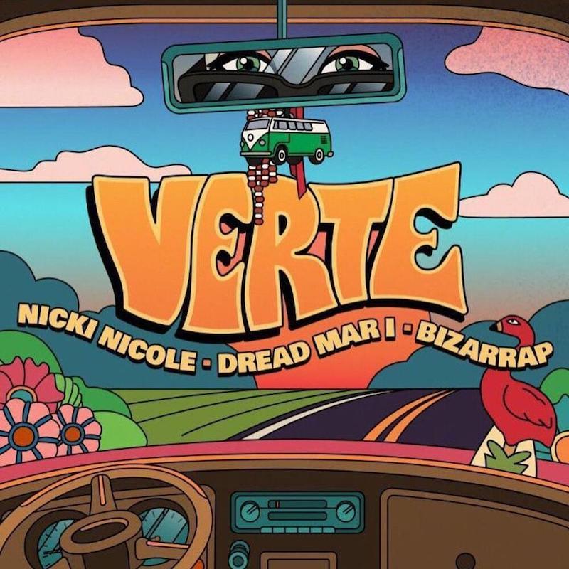 "Nicki Nicole, Dread Mar I, and Bizarrap - ""Verte"" cover"